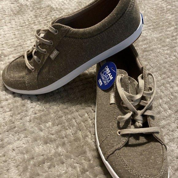 Keds Dream Foam Memory Lace Up Sneaker Shoes